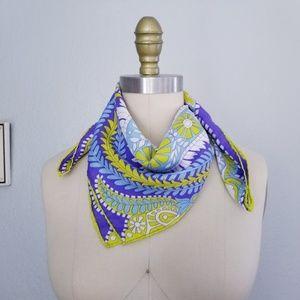 Vera neumann vintage silk paisley scarf